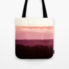 Sunset in Pink bywhacky Tote Bag