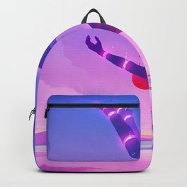 Falling Backpack