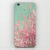 blossom iPhone & iPod Skins featuring Blossom by Cassia Beck
