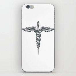 Caduceus Medical Symbol iPhone Skin