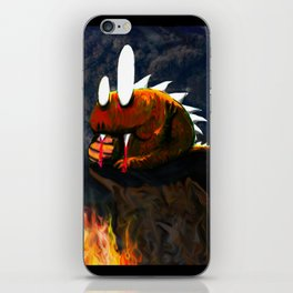 Dino Monster Design iPhone Skin