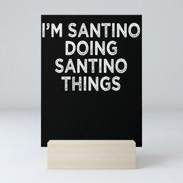 Santino Mini Art Print