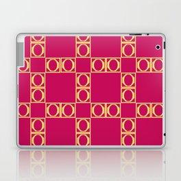 angle red & yellow Laptop & iPad Skin