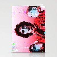 rocky horror picture show Stationery Cards featuring The Rocky Horror Picture Show - Pop Art by William Cuccio aka WCSmack