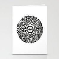 calendar Stationery Cards featuring Aztec Calendar by Jack Soler