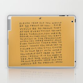 11 year old would be so proud of you Laptop & iPad Skin
