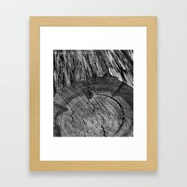 Wood You? Framed Art Print
