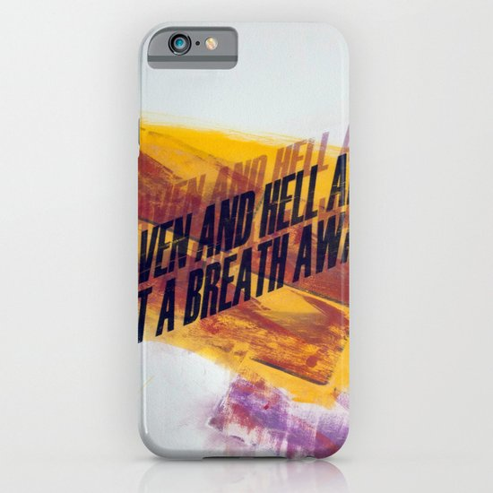 HEAVEN&HELL5 iPhone & iPod Case