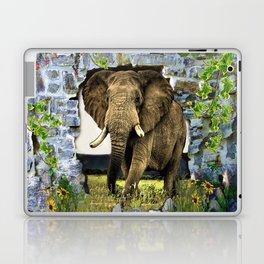 African Elephant Laptop & iPad Skin