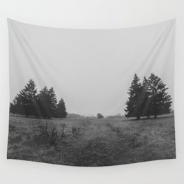 Siblings - black and white landscape photography Wall Tapestry