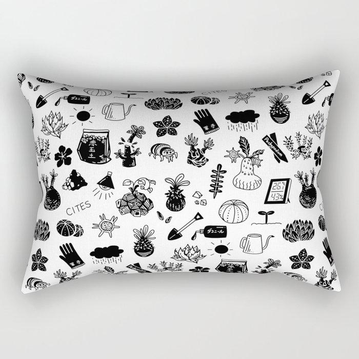caudex mania ver.2 Rectangular Pillow