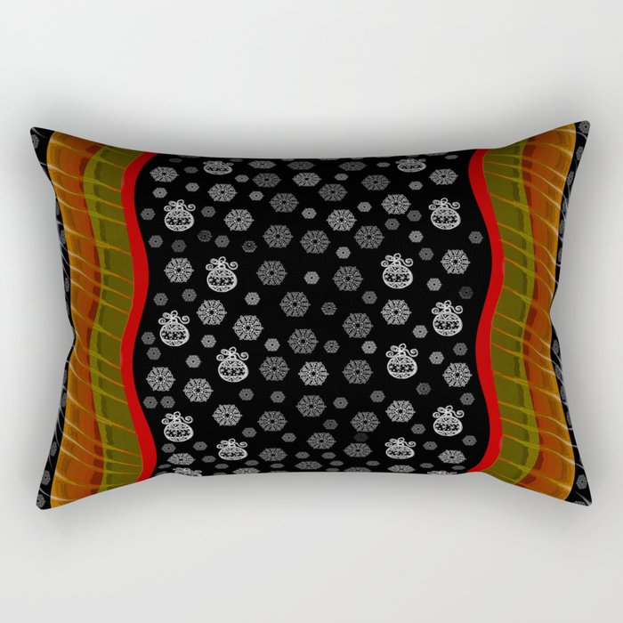 Christmas Design Rectangular Pillow