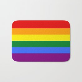 Rainbow Gay Bath Mat