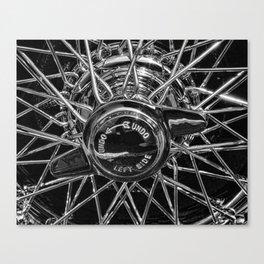 Wire Wheel Canvas Print