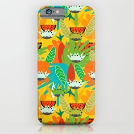 Watermelons and carrots iPhone Case