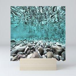 Time To Reflect, Dive Deeper Mini Art Print
