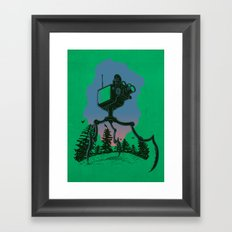 mutant Framed Art Print