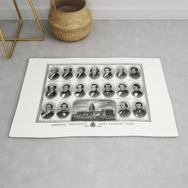American Presidents - First Hundred Years Rug