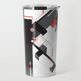 Abstract K Travel Mug
