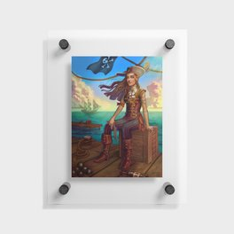Pirate Commission Floating Acrylic Print