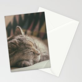 Sweet lullaby. Cat nap. Stationery Cards