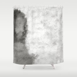 Woman In White Shower Curtain