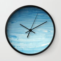 Cool face of the river Wall Clock