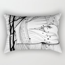 Valley Torch Rectangular Pillow