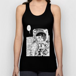 asc 333 - La rencontre rapprochée ( The close encounter) Unisex Tank Top