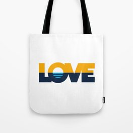 LOVE - People's Flag of Milwaukee Tote Bag
