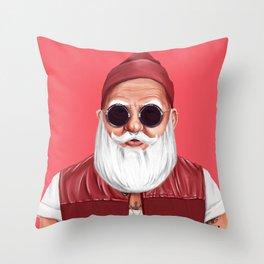 Hipstory -  Santa Claus Throw Pillow