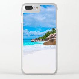 Beachside Clear iPhone Case