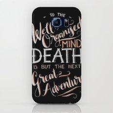 Well Organised Mind - Black Galaxy S7 Slim Case