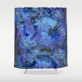 Nebulaic Eddy Shower Curtain