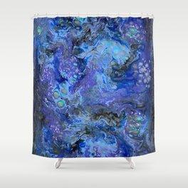 Nebulaic Eddy Shower Curtain