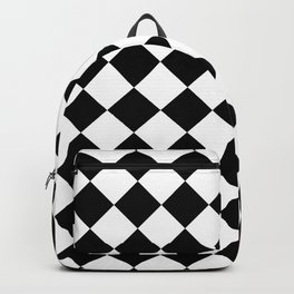 Rhombus (Black & White Pattern) Backpack