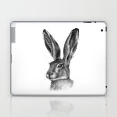 Cute Hare portrait G126 Laptop & iPad Skin
