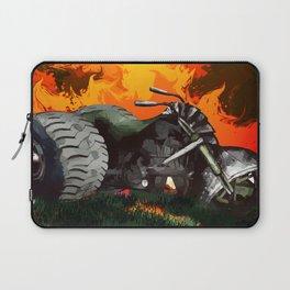 Steampunk Trike Motorcycle Laptop Sleeve
