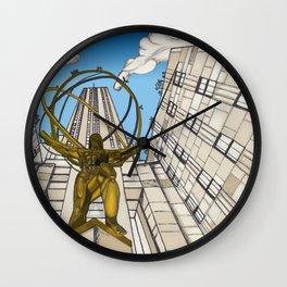 Atlas at Rockefeller Wall Clock