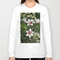 lily Long Sleeve T-shirts featuring Lily by VAWART