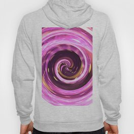 Abstract colored spiral Hoody