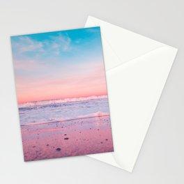 pastel beach #society6 Stationery Cards
