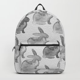 Watercolor Bunnies 1N by Kathy Morton Stanion Backpack