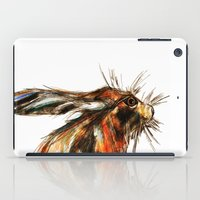 hare iPad Cases featuring Hare by James Peart