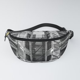 New York fire escapes Fanny Pack