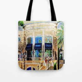 Fashion Vegas Style Tote Bag