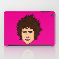 bob dylan iPad Cases featuring Bob Dylan  by Chelsea Herrick