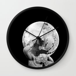 Weight of the Weekend Wall Clock