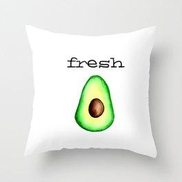Fresh Avocado fr e sh a voca do Throw Pillow