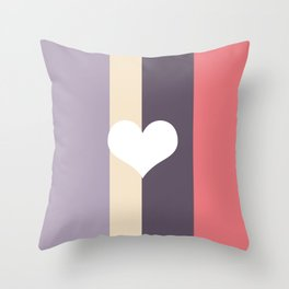 Girly Pastel Throw Pillow